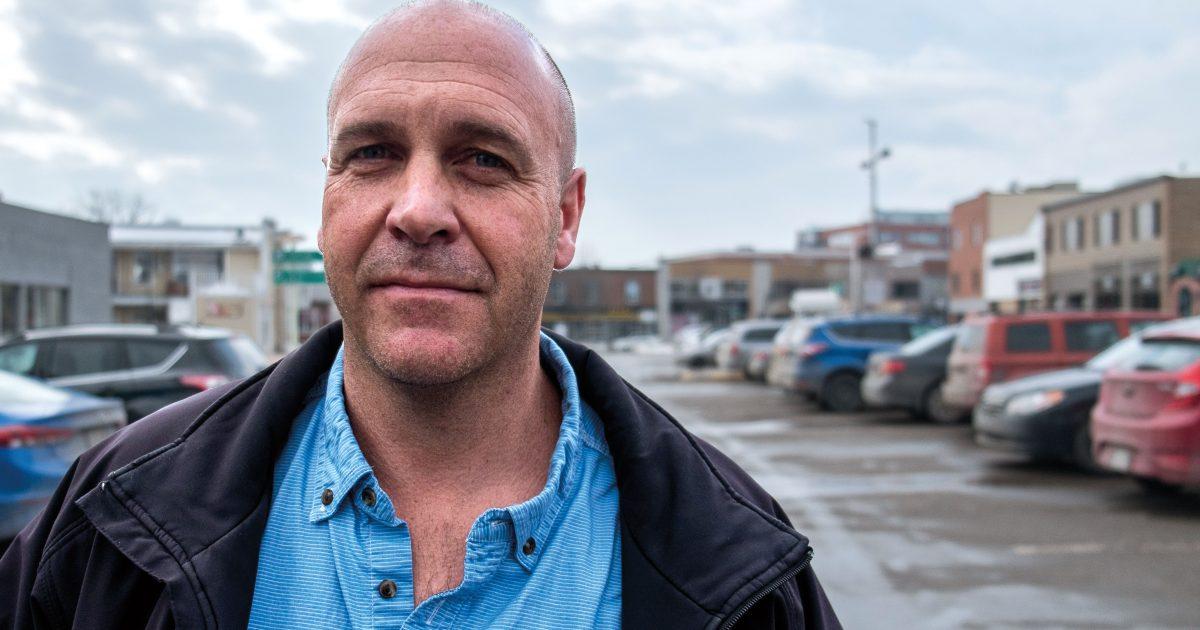Martin Richer, président  du Syndicat des travailleurs et des travailleuses  d'Orica Canada–CSN | Photo : Cedric Martin