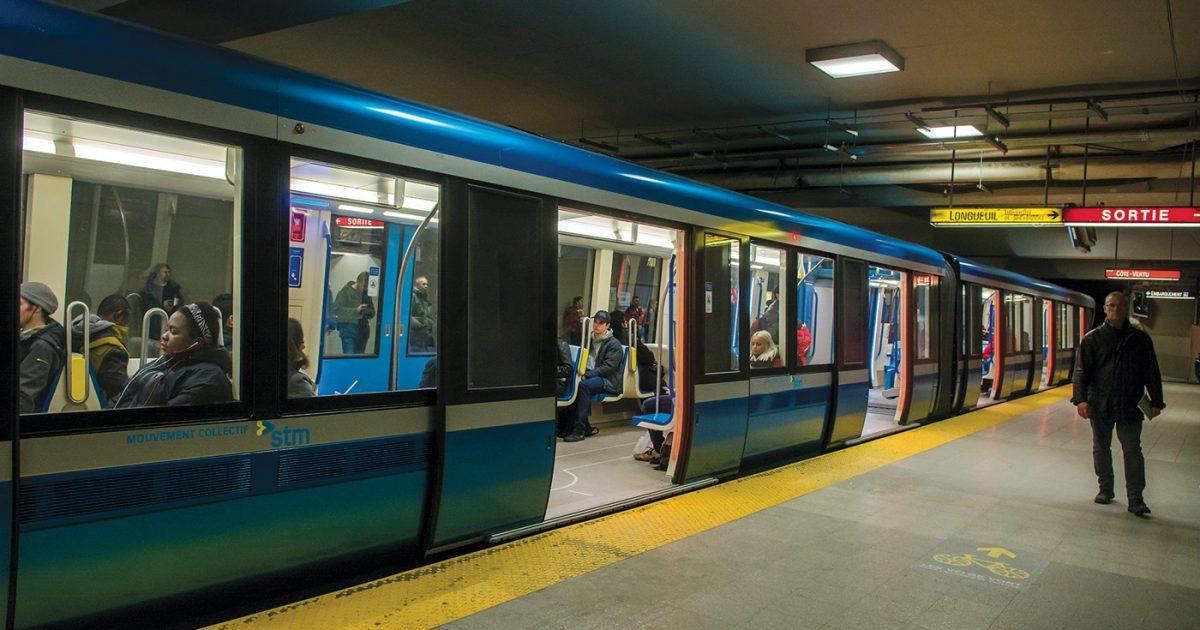 Métro AZUR de Montréal
