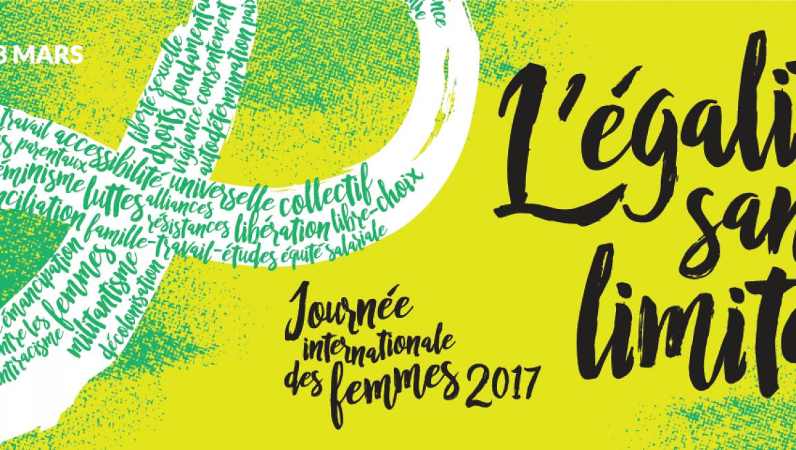 Bandeau Facebook - Journée internationale des femmes 2017 (8 mars)