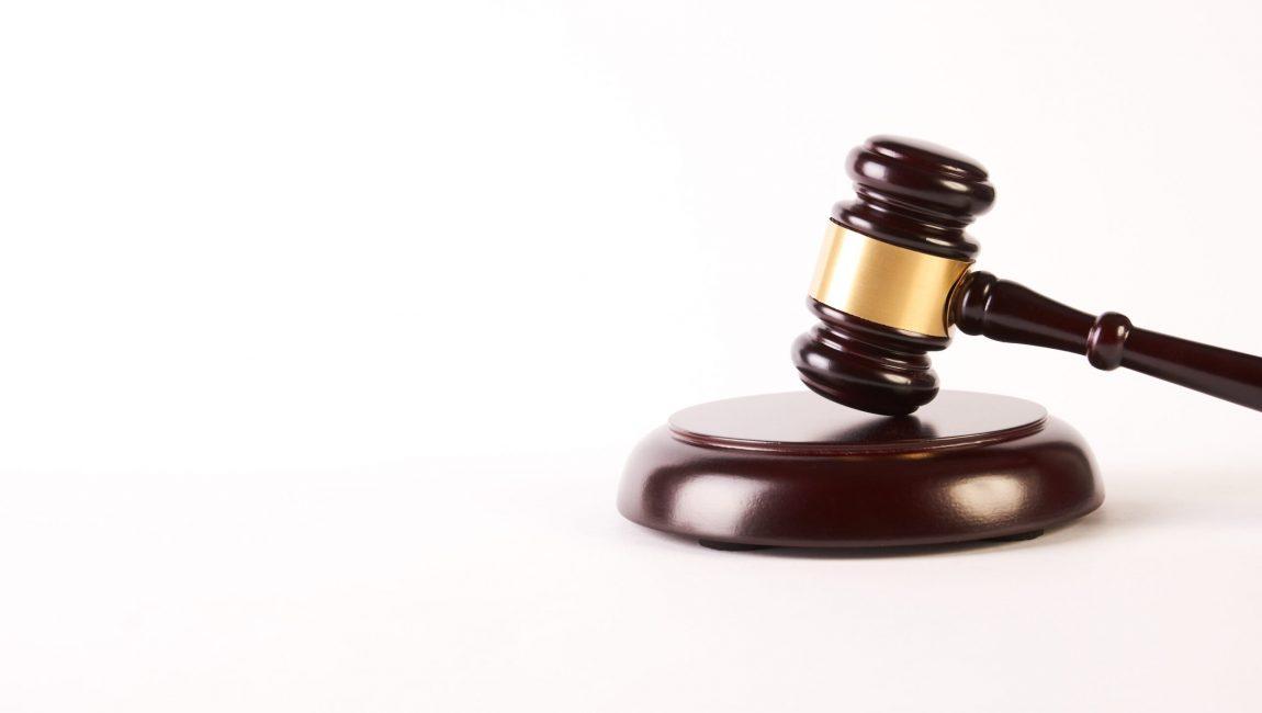 Judge gavel or law hammer