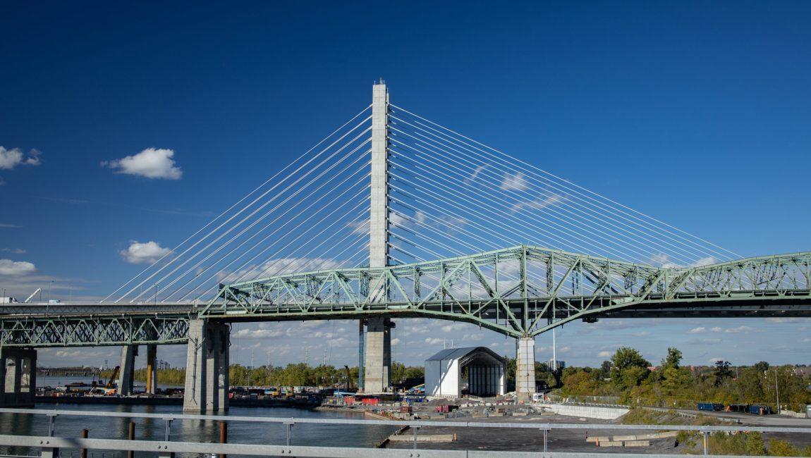 Pont Champlain et Estacade