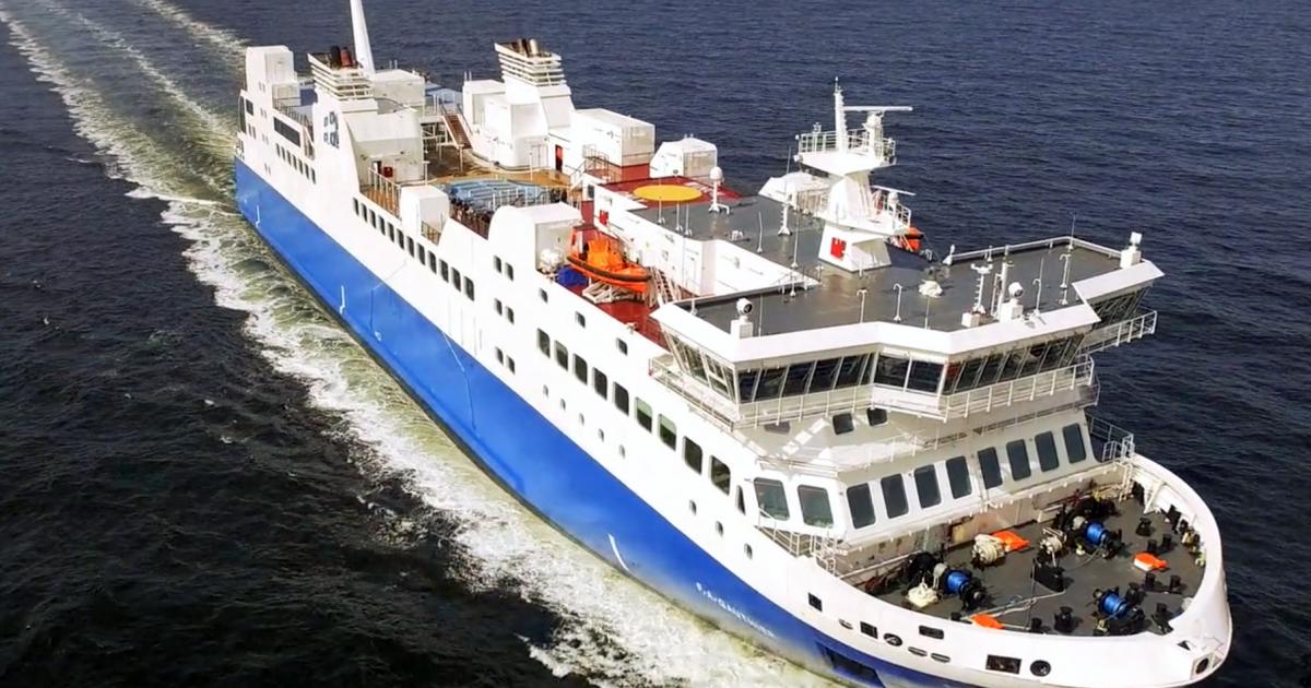 Le F.-A. Gauthier a été mis à l'arrêt le 17 décembre 2018.