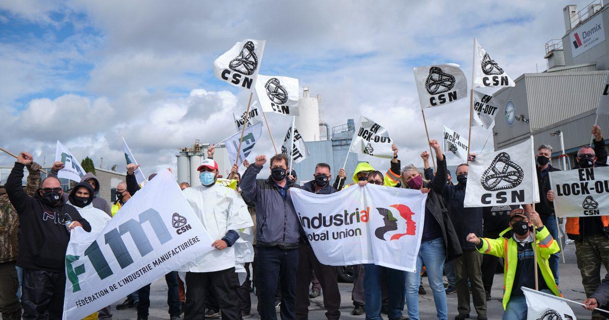 CSN, Lock Out, Demixe, grève, ©Dominic Morissette