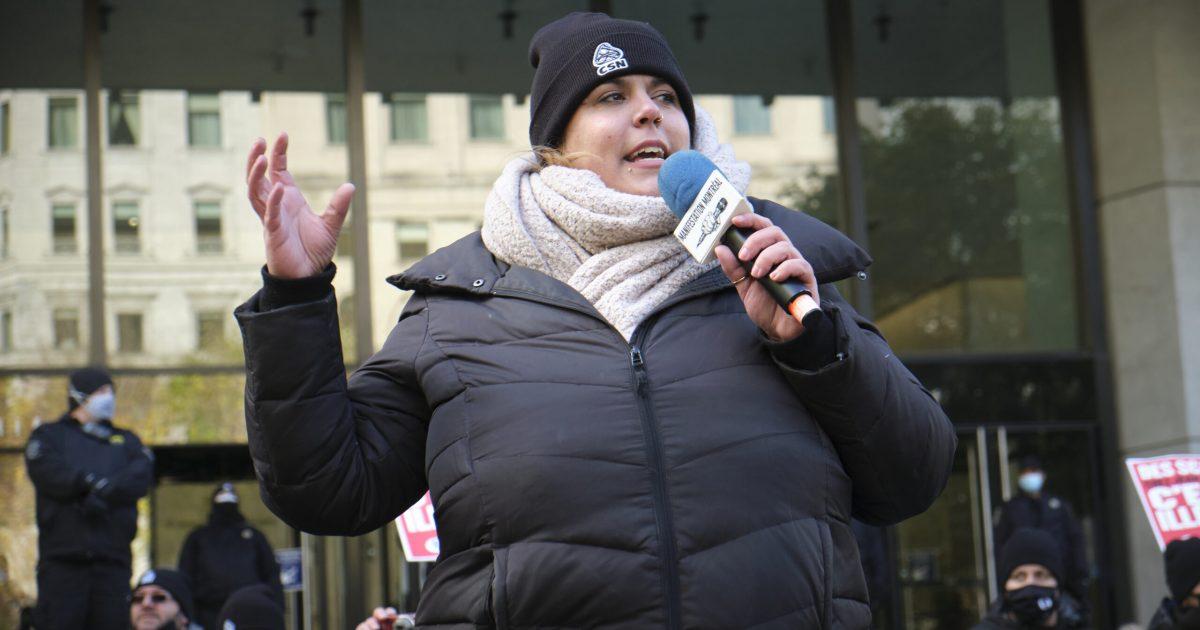La présidente Audrey Benoit