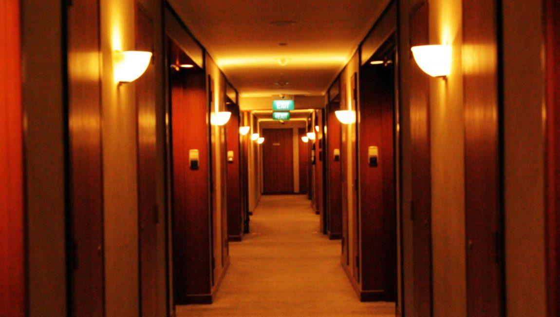 Corridor d'hôtel