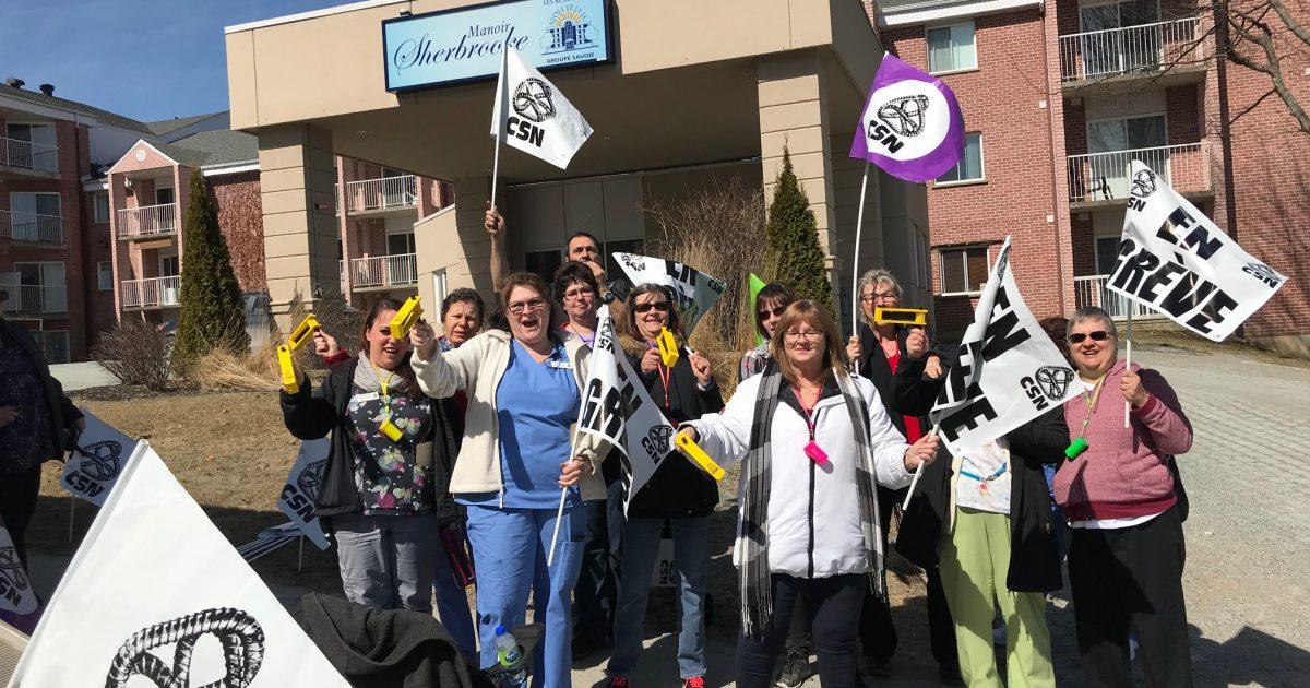 photo grève 23 avril 1