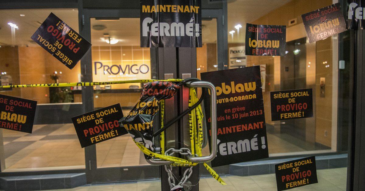 Provigo manif-023 13 novembre 2014 Photo Michel Giroux
