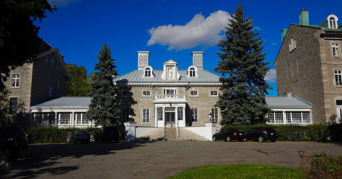 Monklands / Villa Maria Convent - National Historic Site of Canada